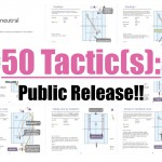 The 50 Tactic(s) Public Release