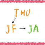 【重要】Term115からJAクラスに変更になります。(木曜日)