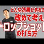 過去YouTube動画集vol.4(ローボレー、高いバックハンド、ドロップショット)