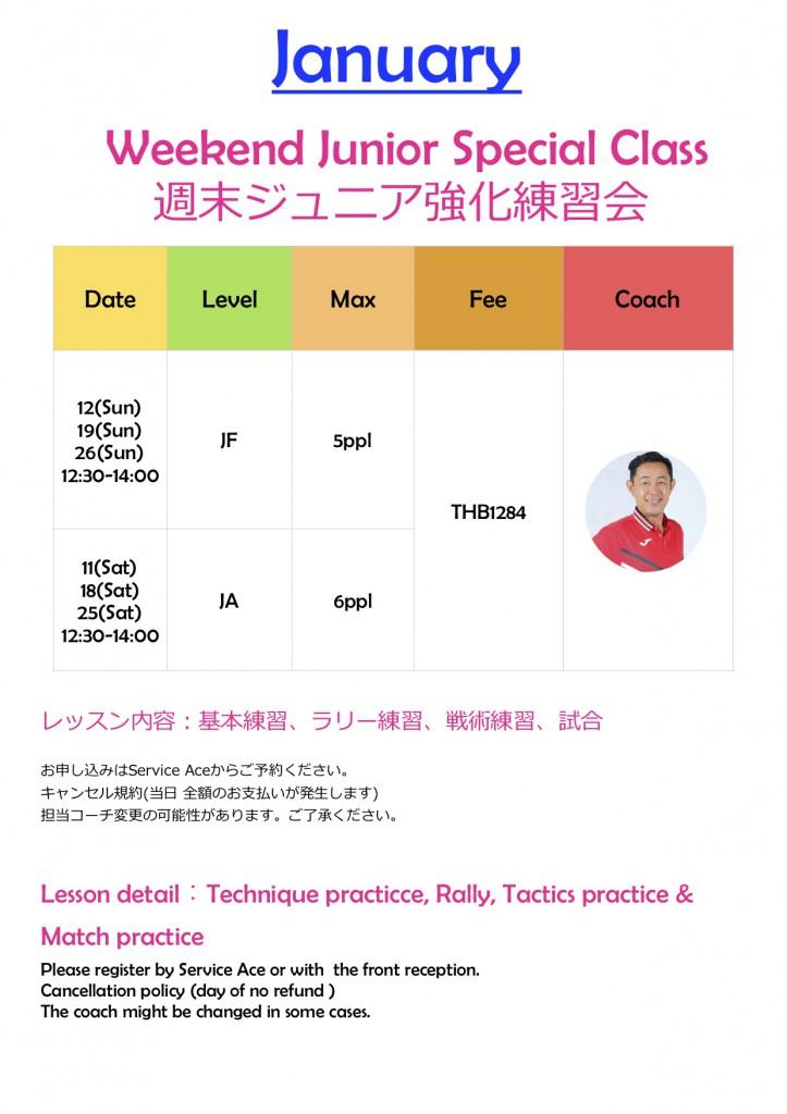 APF 強化練習会 January 2020