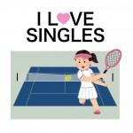 【シングルス】ダブルス女子がシングルスをプレーする時に最初に覚えて欲しい事(その1)