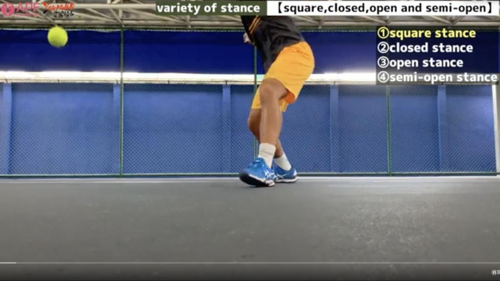tennis-stance-squre